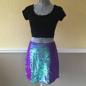 Sparkly Mermaid Skirt